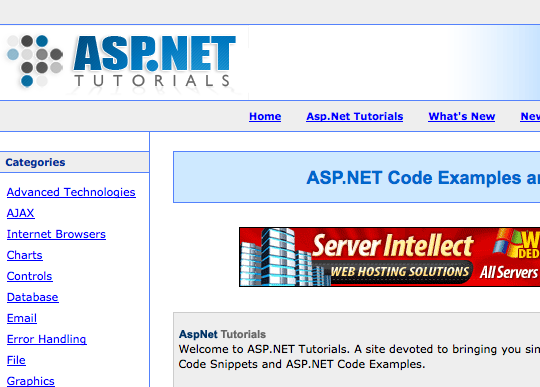 asp.net programming language tutorial pdf