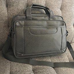 15.6 Inch Laptop Bag Business Office Briefcase Multi-Functional Messenger Bag