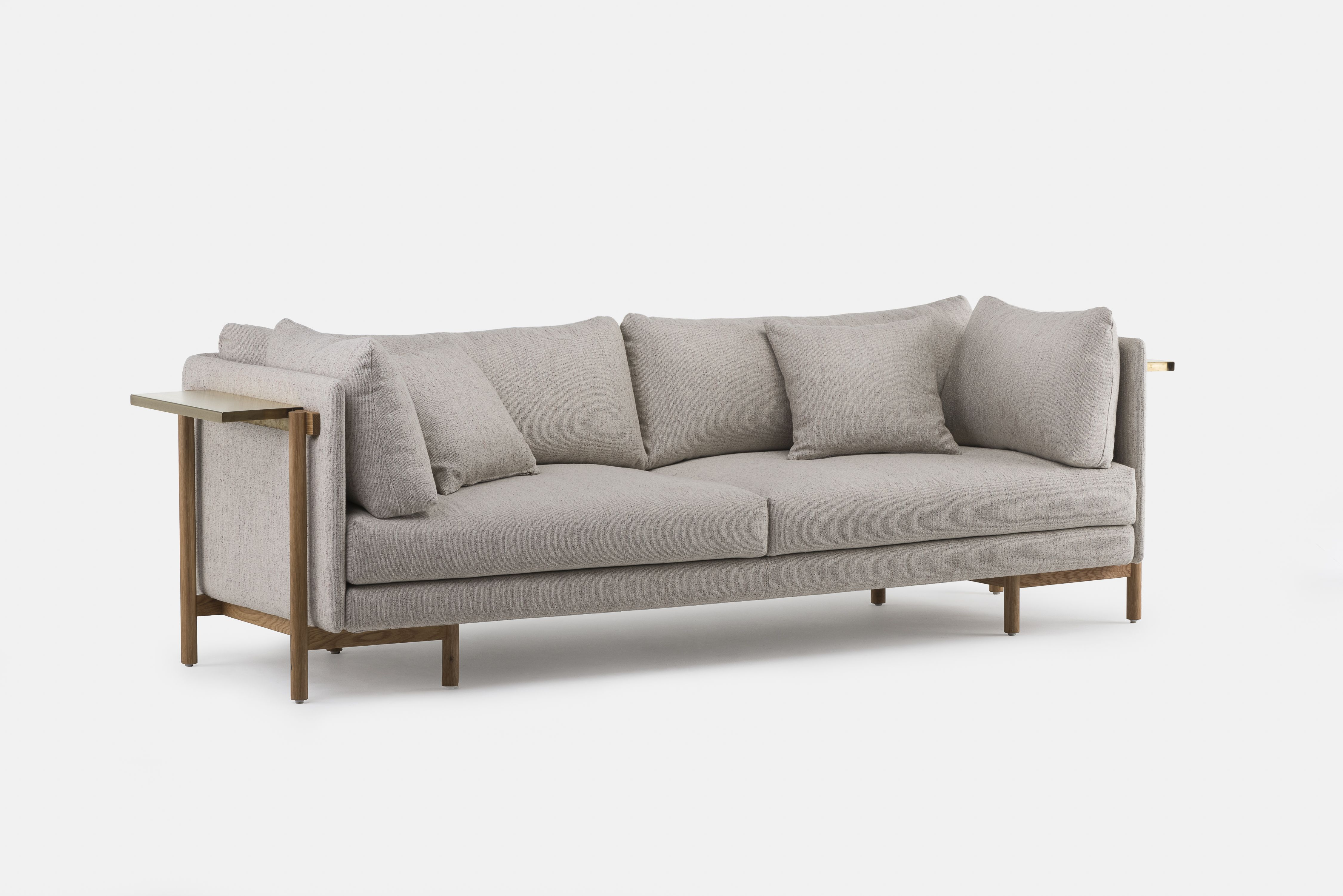 Frame Medium Sofa Designed By Neri Hu And Crafted By De La Espada Sofa Frame Sofa Sofa Design