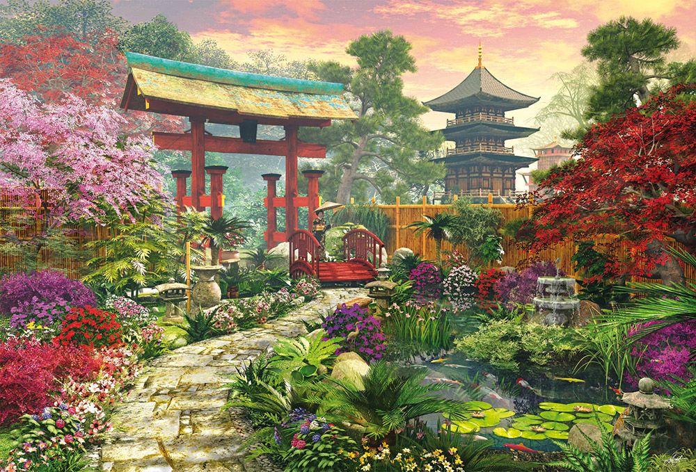 puzzle educa 3000 jardn japons - Jardines Japoneses