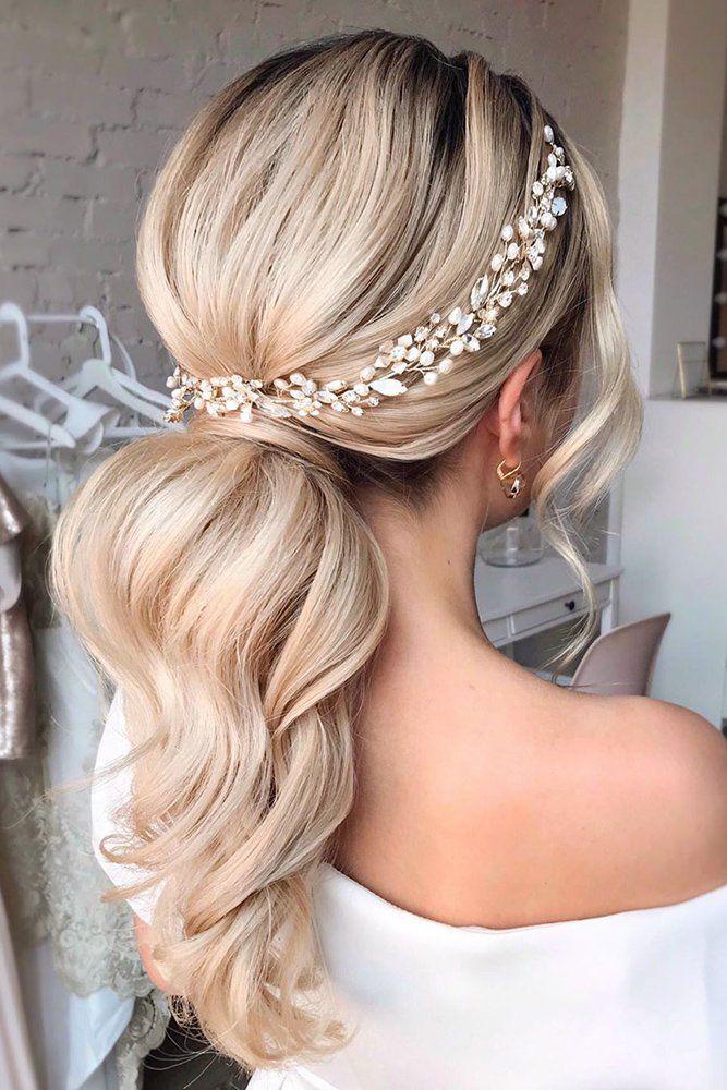 Wedding Hairstyles 2020 2021 Fantastic Hair Ideas Bridal Ponytail Wedding Ponytail Long Hair Styles