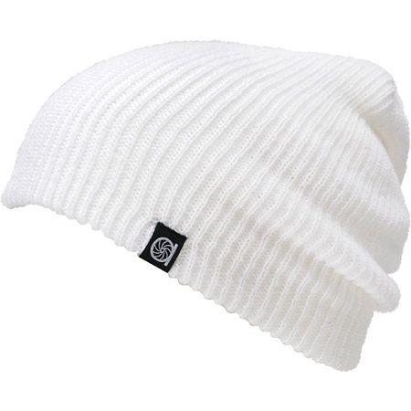 8c8253fb9dc Aperture Pedro White Slouch Beanie. Agh