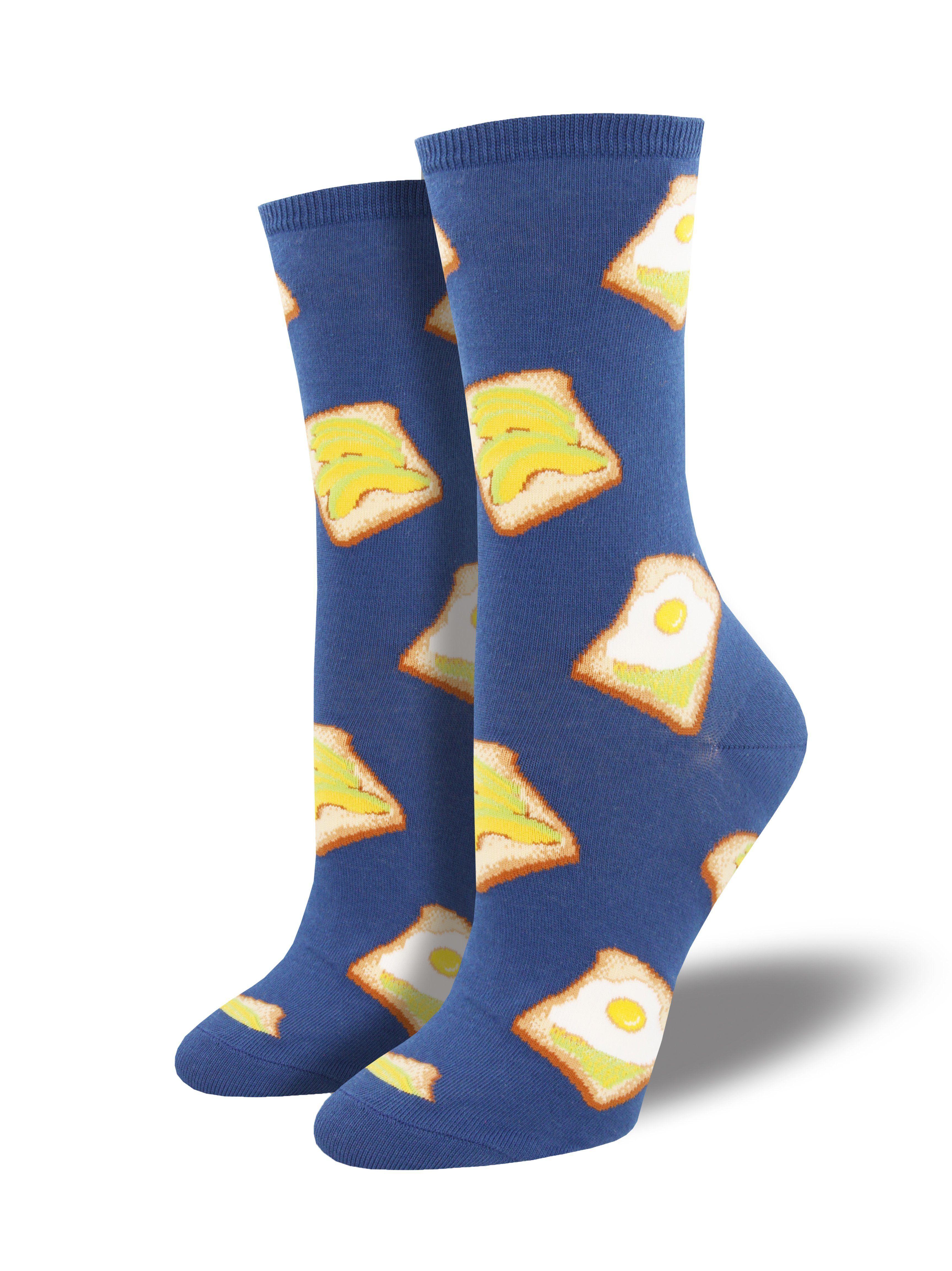 dd0fedd02 Avocado Toast Socks Food Socks, Guacamole, Avocado Toast, Crew Socks, Good  Food