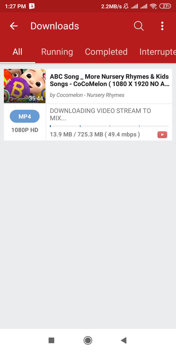 Videoder app is so popular for downloading apps and games