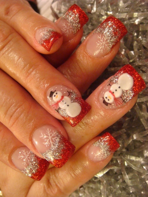 christmas-nail-art-design-ideas-54388d819d763.jpg (1024×1365) | Nail ...