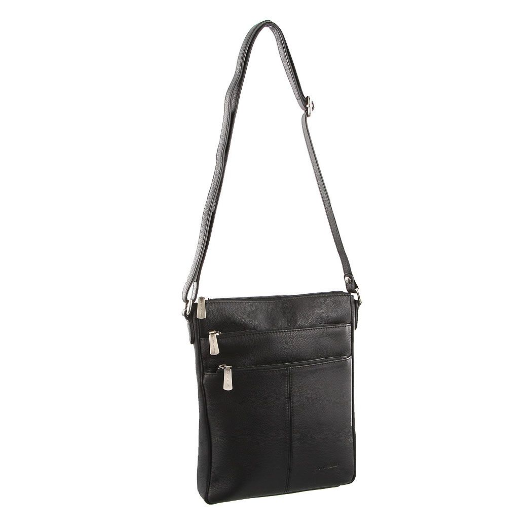 0232b25ebe Pierre Cardin Leather Cross Body Bag PC1688 Black. Pierre Cardin Leather  Cross Body Bag is a awesome little bag