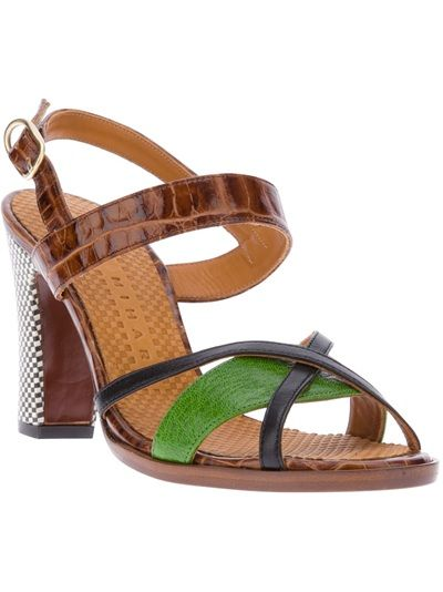 Chie Mihara Strappy Heeled Sandal