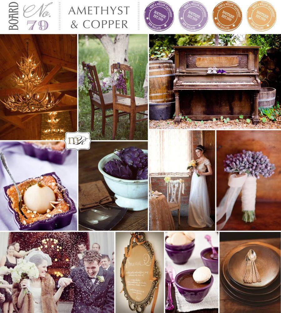 Best 25 copper wedding ideas on pinterest copper wedding decor bronze wedding decorations - Home decor color palettes decor ...