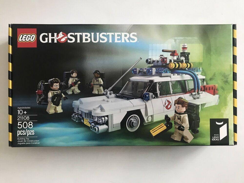 SEALED 21108 LEGO Ghostbusters original movie ECTO 1 vehicle 508 pc set RETIRED