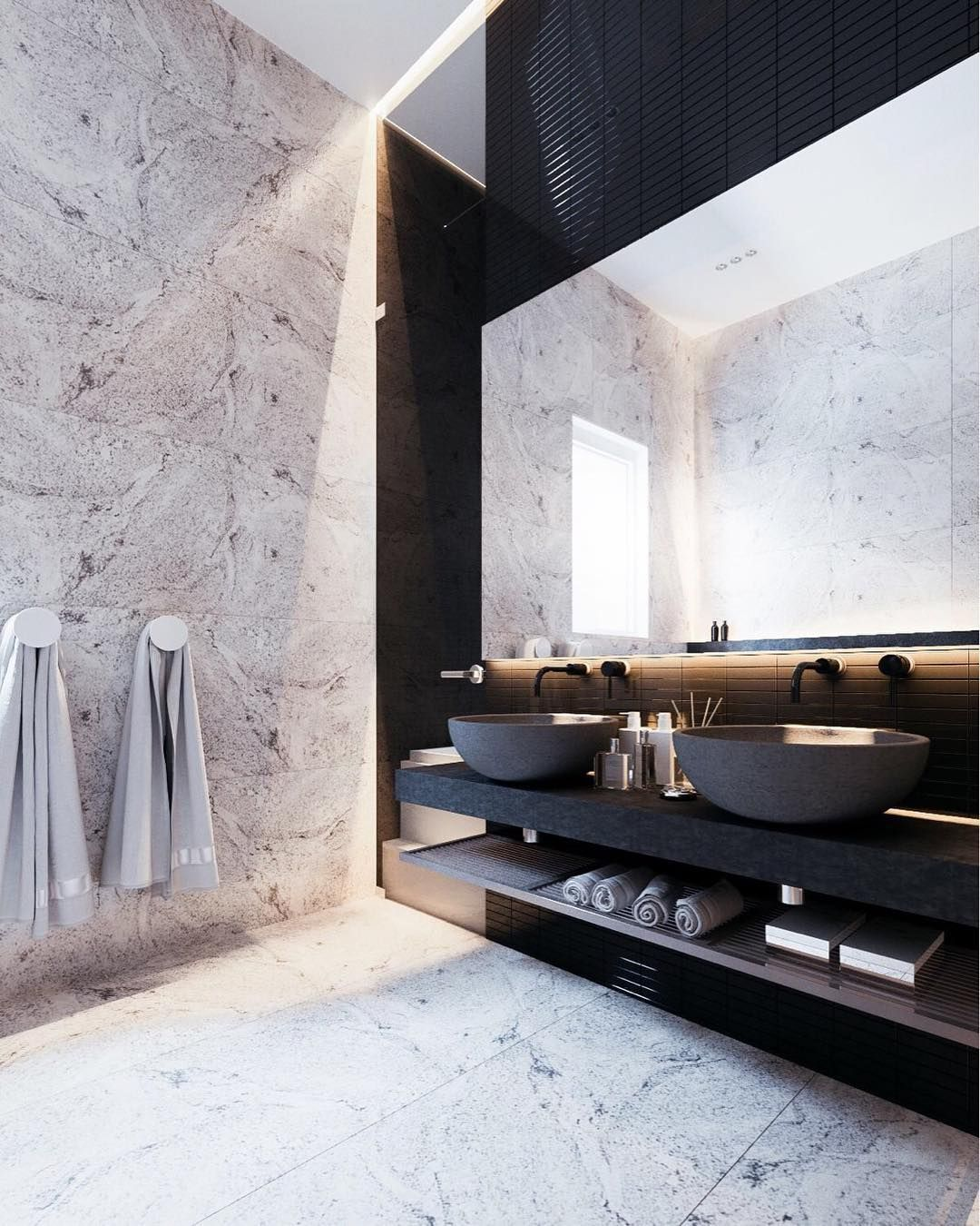 fascinating luxury bathroom. A Cleverly Decorated Family Home In Ukraine Designed By Yevhen Zahorodnii \u0026 Sivak Trigubchak, This 180 Square Meter Offers Some Exciting Inspiration. Fascinating Luxury Bathroom T