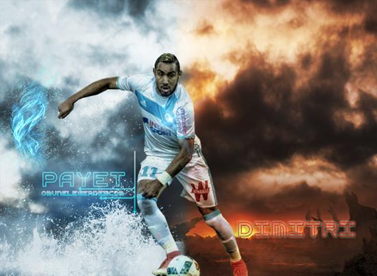 Payet Dimitri Om Olympique Olympique De Marseille Marseille