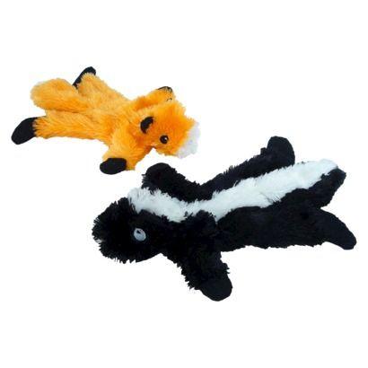 Boots Barkley Mini Floppy Dog Toys Fox Skunk Floppy Dog