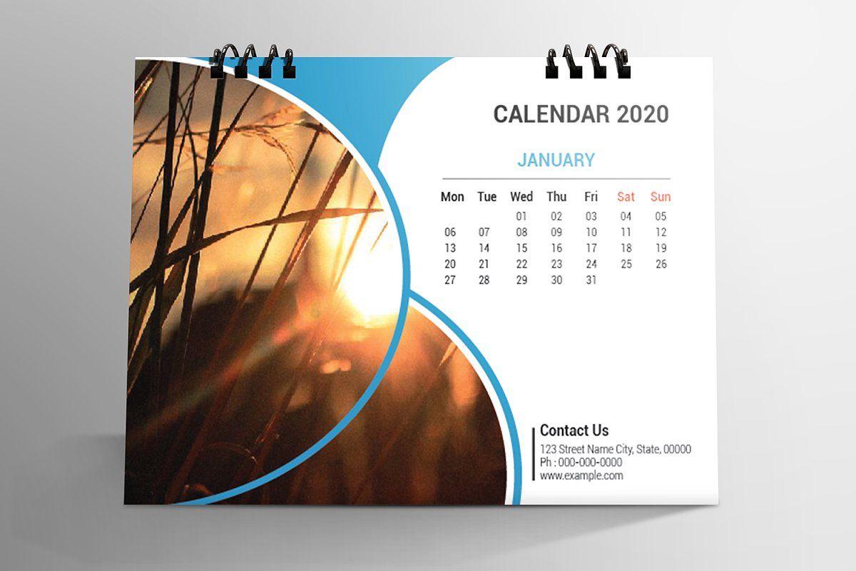 Desk Calendar Design 2020 In 2020 Desk Calendar Design Calendar Design Desk Calendars