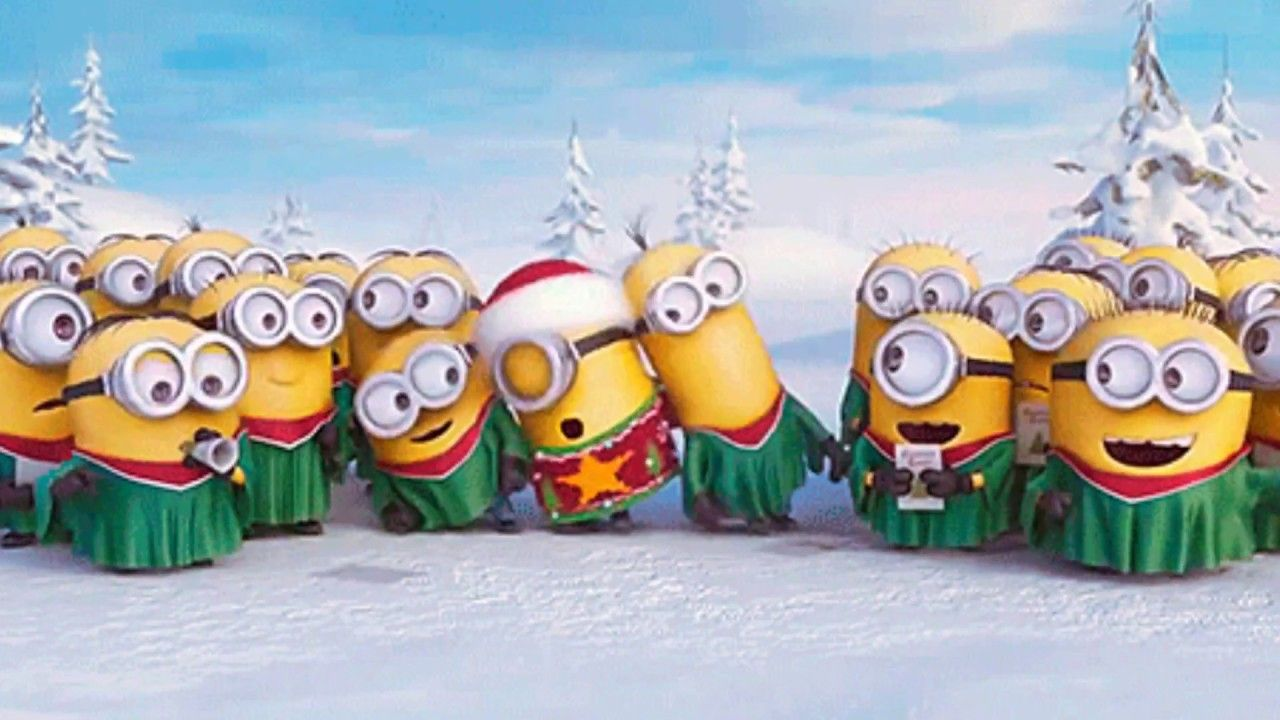 finger family minions christmas song best song for kids - Minions Christmas Song