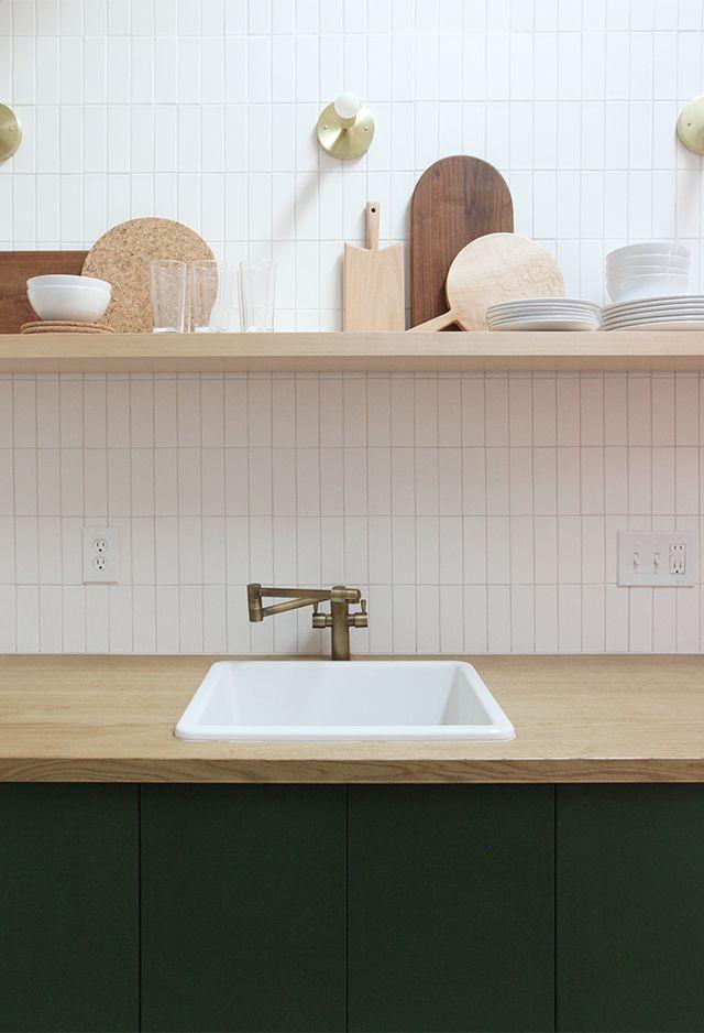 a frame kitchen before after 7 pinterest k che k chenspiegel und einrichten und wohnen. Black Bedroom Furniture Sets. Home Design Ideas