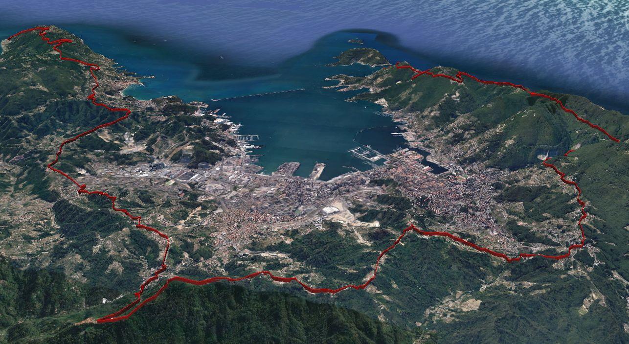 """#Domenica """"Vivere l'Alta Via del Golfo"""": una giornata d'escursione dedicata alla scoperta dei 23 chilometri di sentiero recuperato dal Comune della #Spezia"""