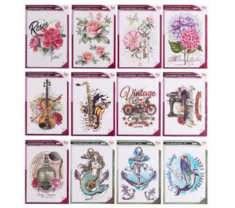 Karin Jittenmeier Textildesign Color Bugeltransfers Verschiedene Motive 12tlg 585984 Textildesign Textil Karin Jittenmeier