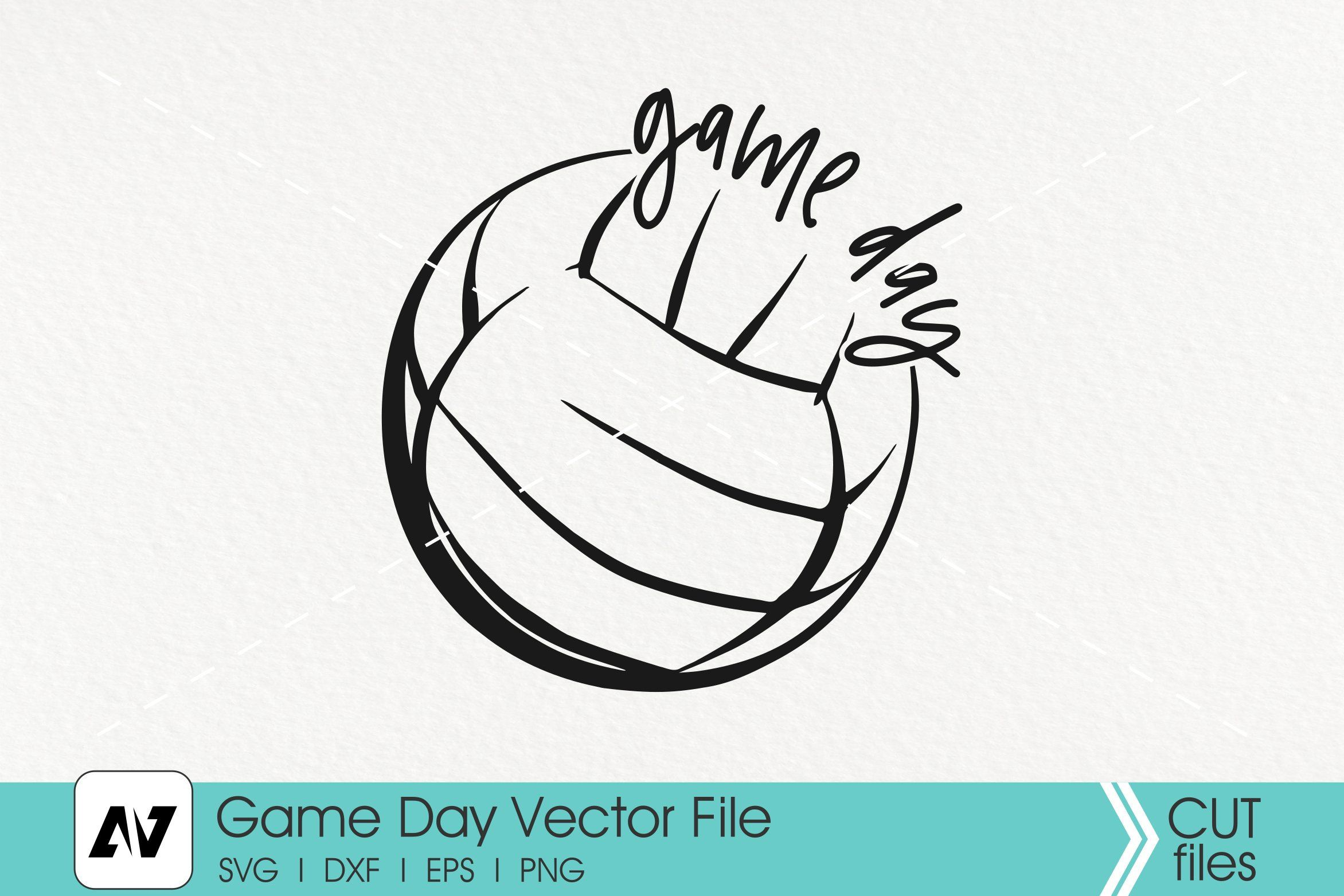 Game Day Svg Game Day Clip Art Volleyball Svg Volleyball Clip Art Volleyball Graphics Game Day Graphics Svg Fil In 2020 Svg Svg Files For Cricut Volleyball Games