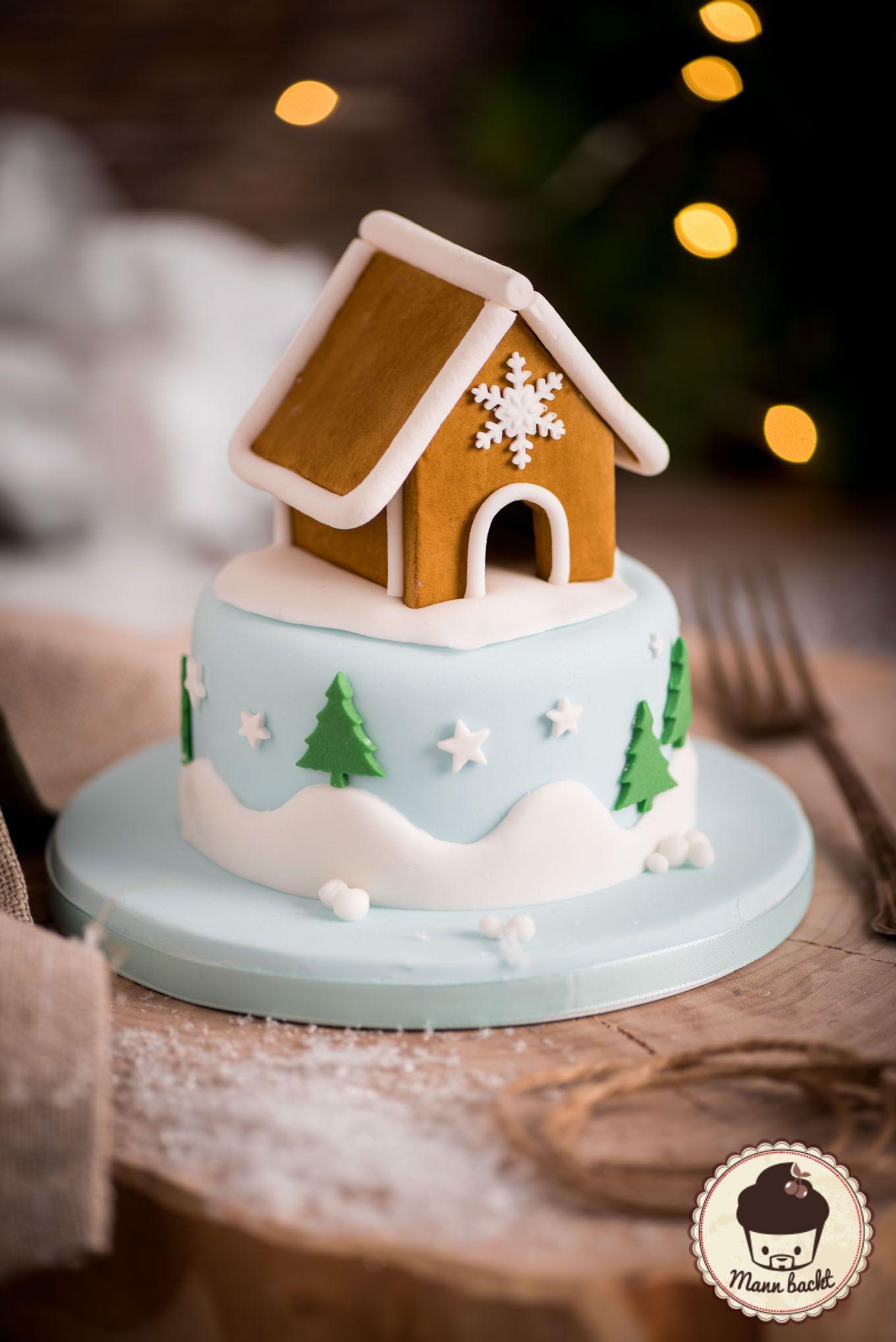 Gingerbread House Cake Lebkuchen Haus Kuchen
