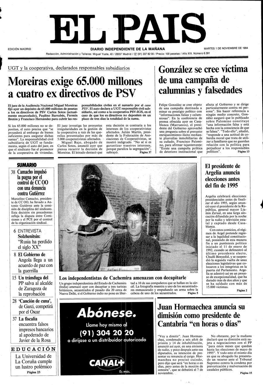 1 de Noviembre de 1994