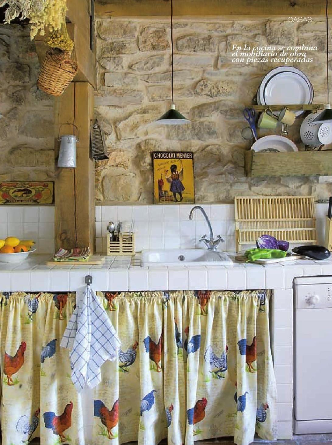 ClippedOnIssuu from Vivir en el Campo | Cocinas | Pinterest | Casas ...