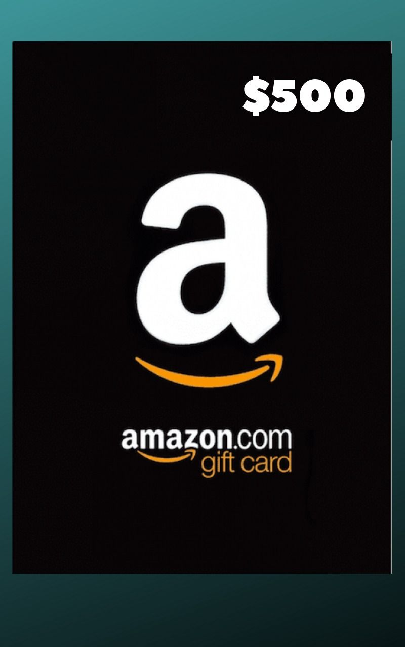 Giveaway 500 Amazon Gift Card Amazon Gift Card Free Amazon Gift Cards Free Gift Card Generator