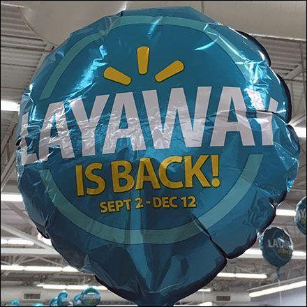 High Flying Inflatable Promos Layaway Is Back At Walmart Balloon