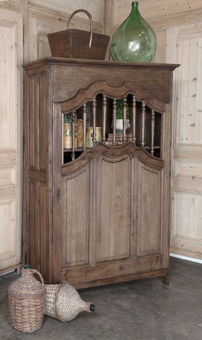 Antique Country French Kitchen Cabinet wwwinessa French
