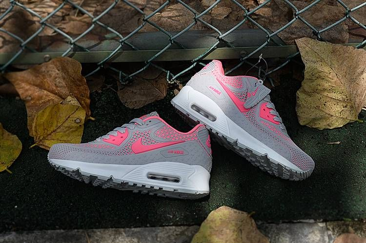 best service 1b882 bc082 New Nike Air Max 90 Run Shoes Gray Pink For Women | 90 problems ...