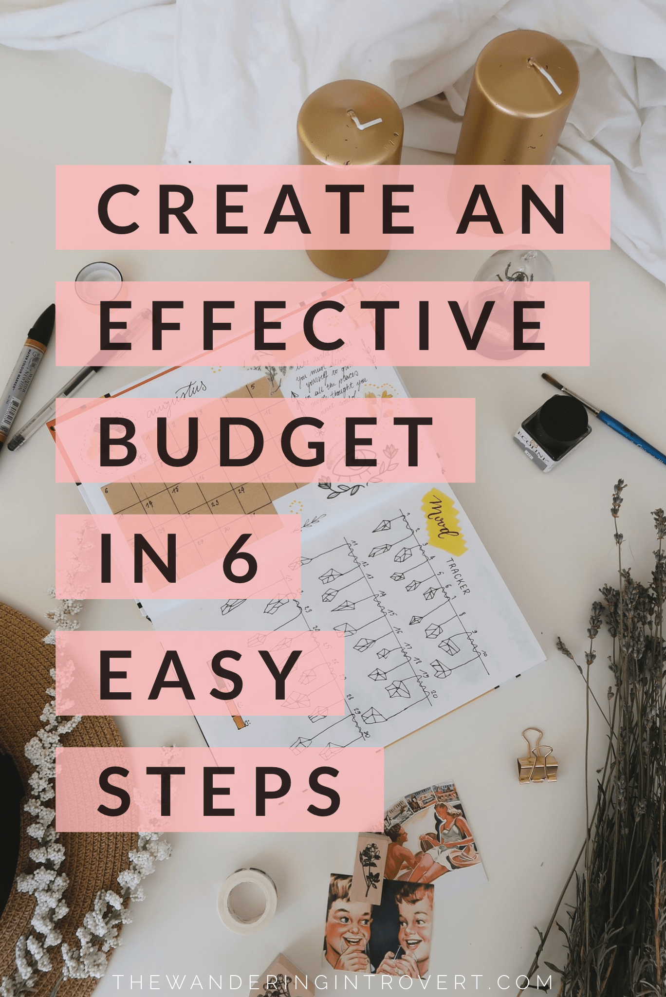 Create An Effective Budget In 6 Easy Steps In