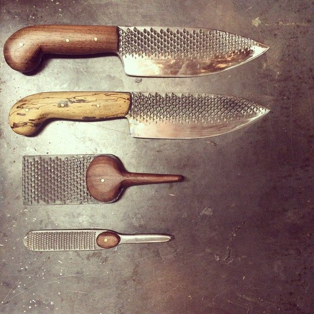 Chelsea Miller's Unusual Kitchen Knife Designs  Core77  Camping Gorgeous Kitchen Knife Design Design Decoration