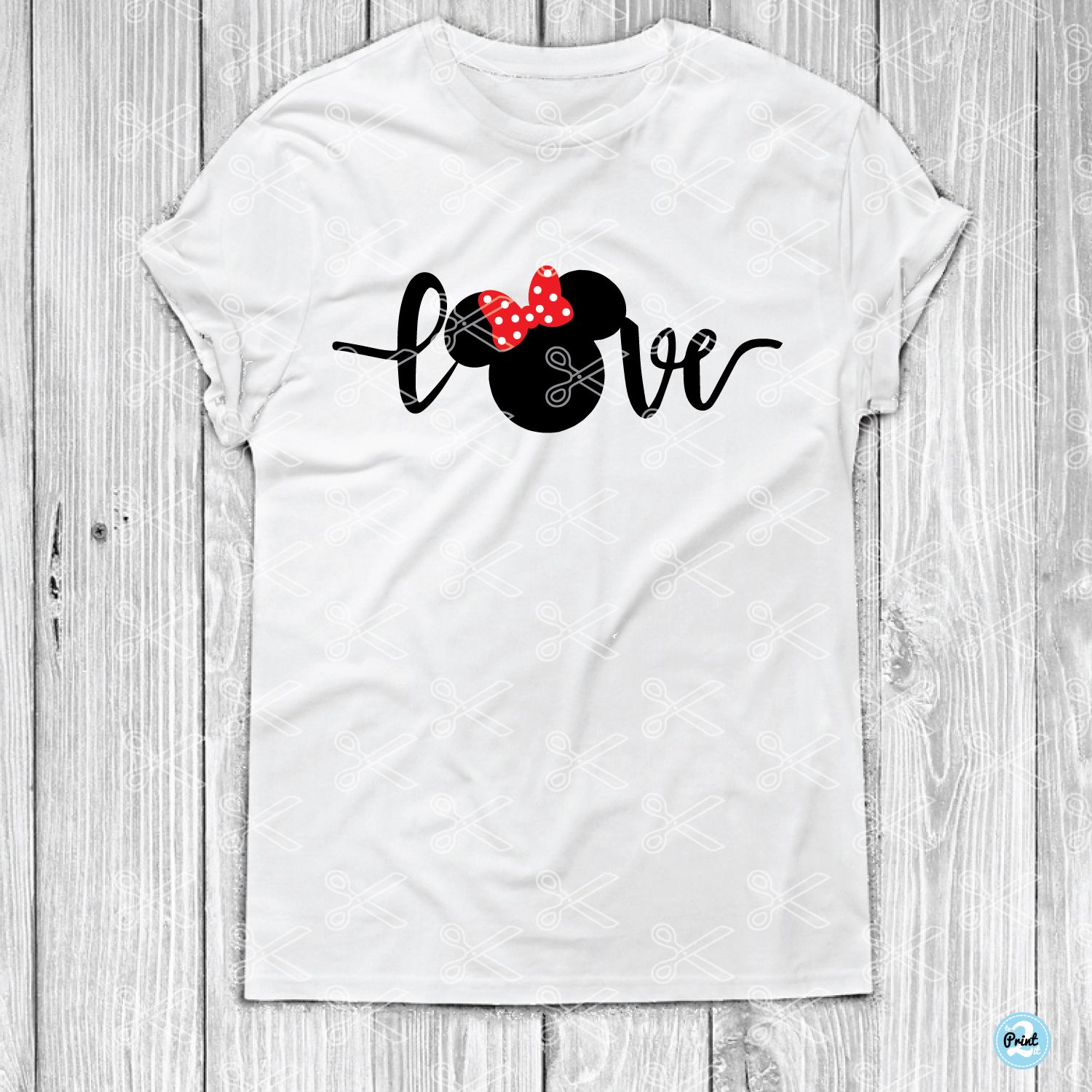 Download Love Minnie Mouse SVG DXF | Minnie mouse, Love silhouette ...