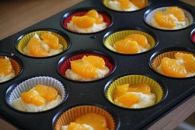 Mandarinen-Quark-Muffins - Rezept mit Bild