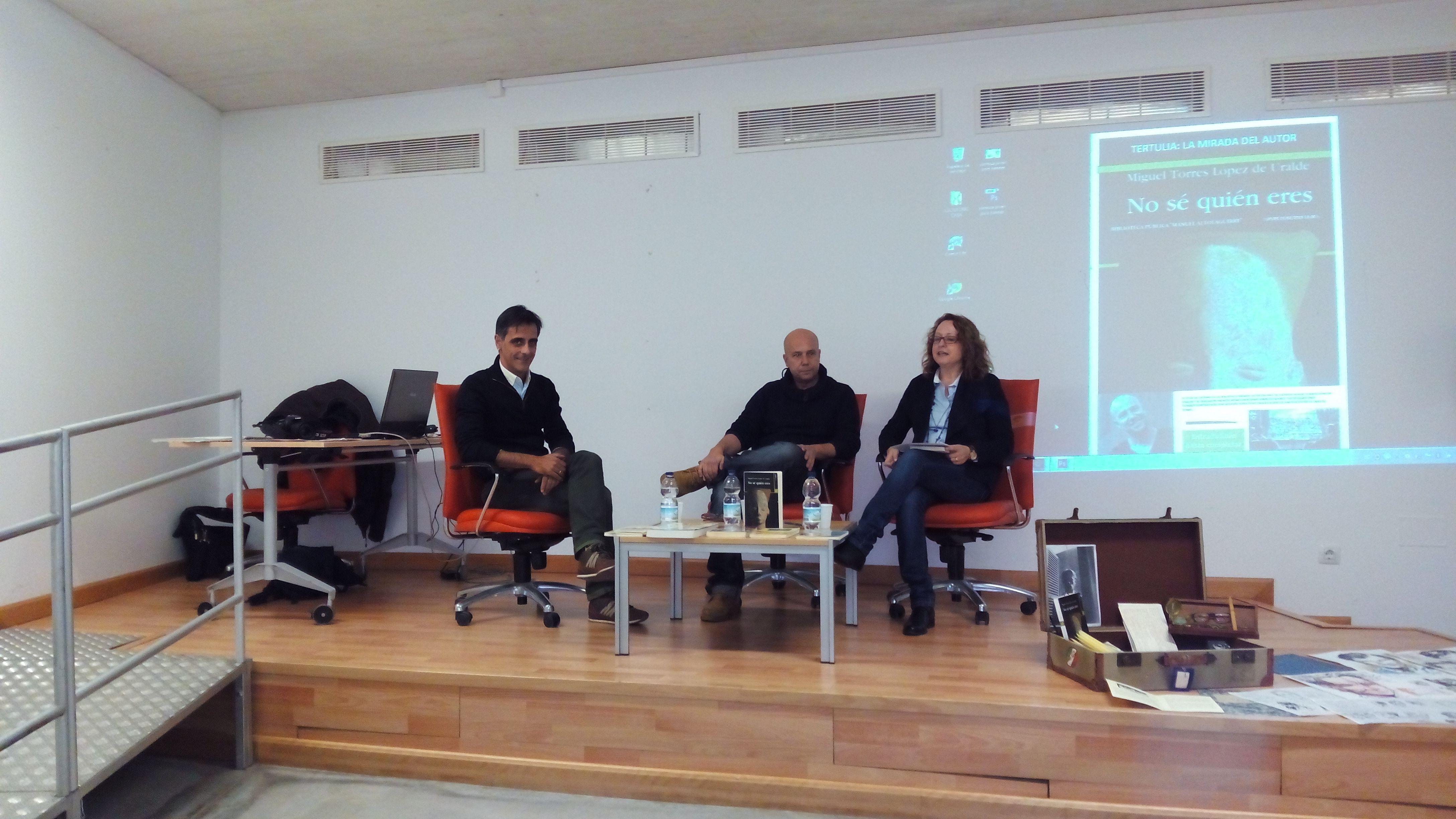 Encuentro con el escritor Miguel Torres López de Uralde y Encuentro ...