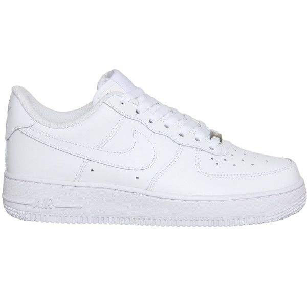 Nike Air Force 1 Lo (w) ($105) ❤ liked on Polyvore