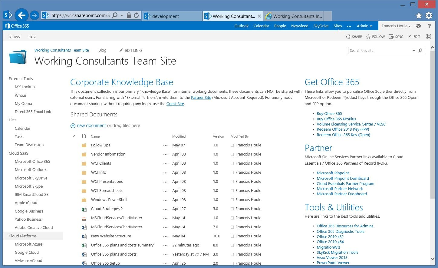 sharepoint website examples