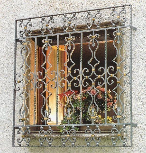 Burglar Bars For Windows Wrought Iron Security Decorative