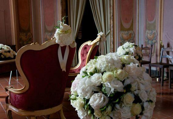 Fiori Jesi.Matrimonio Civile Palazzo Pianetti Jesi Decorazioni Floreali