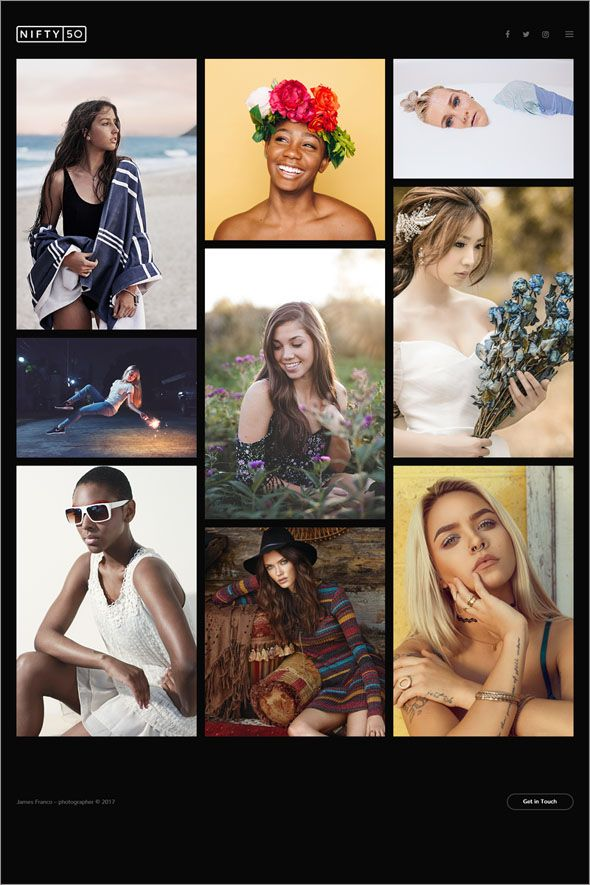 Search Creative Photography WordPress Theme Collections - Best website templates for photographers