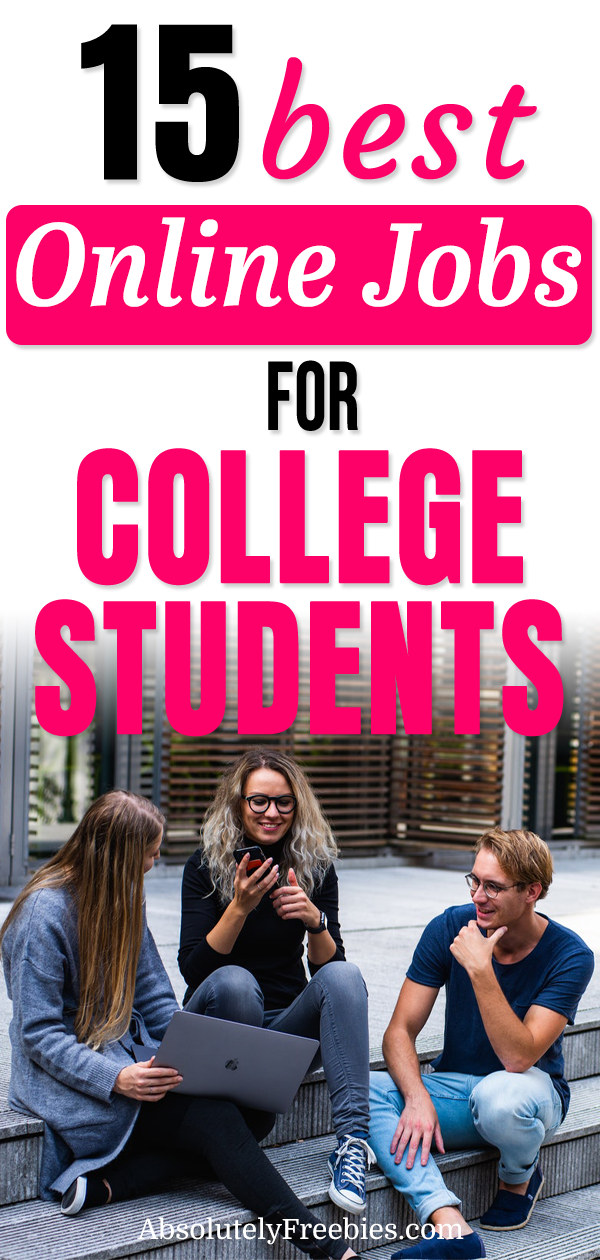 Discover 15 Online Jobs For College Students That Don T Require Any Investments And Experience You Can Make Extra Mo Online Jobs Best Online Jobs Student Jobs