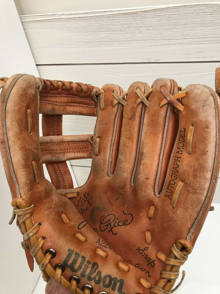 """Wilson A2250 Jim Rice 10"""" Right Hand Grip Tite Pocket Snap"""