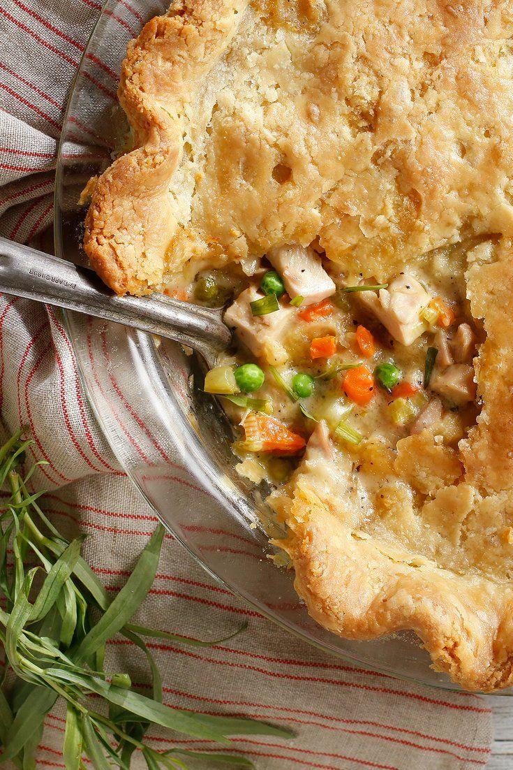 ChickenTarragon Pot Pie Recipe Recipes, Nyt cooking, Food