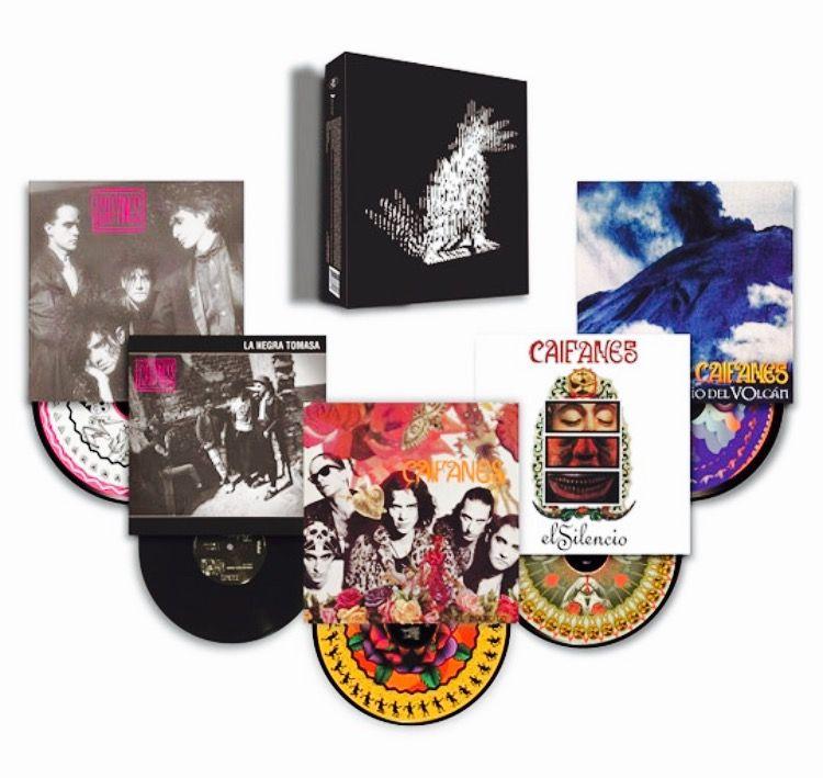 Caifanes Vinyl Box Set Retro Music Vinyl Boxset