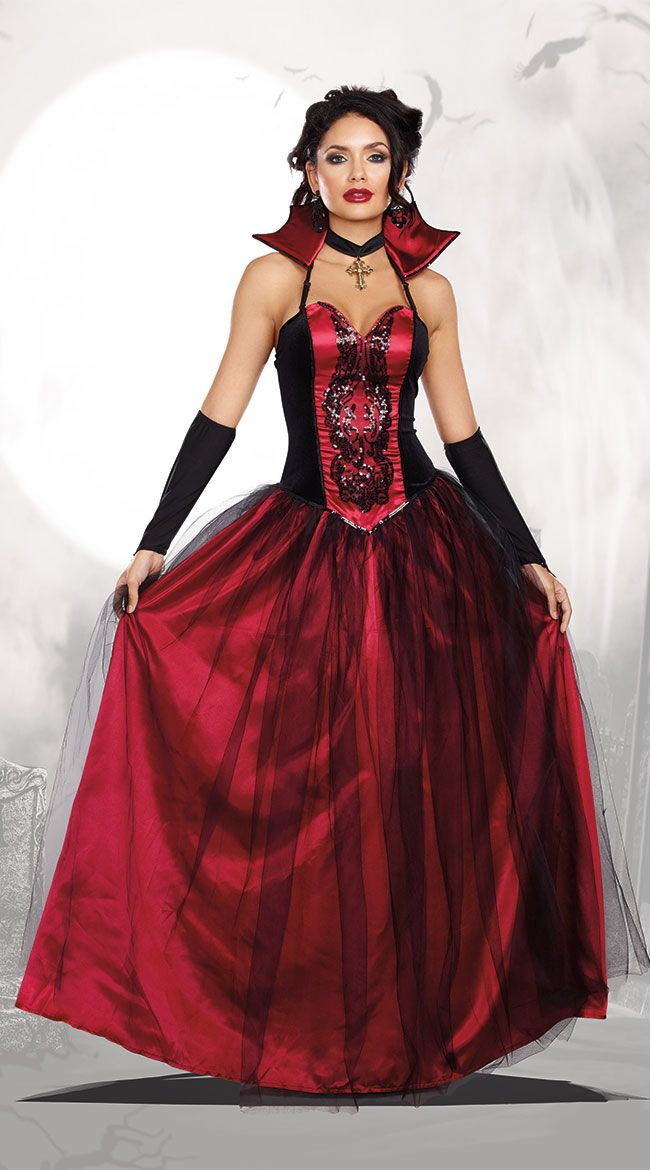 b92f9845624ec Bloody Beautiful Vampire Queen Costume in 2019 | Halloween | Sexy ...