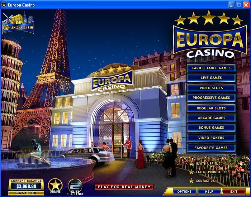Что такое европа казино онлайн появляется окно казино вулкан