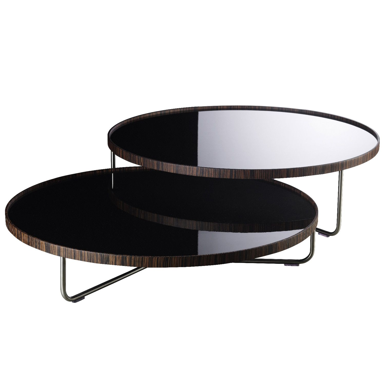 Modloft Adelphi Black Lacquer On Ebony Coffee Table Coffee Table Round Glass Coffee Table Black Coffee Tables [ 1500 x 1500 Pixel ]
