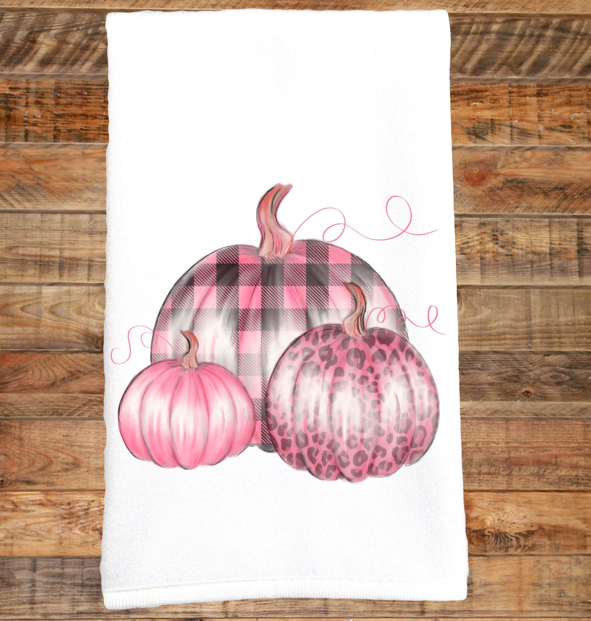 Pink Pumpkins, Breast Cancer, Wear Pink, Pink Buffalo Plaid, Pink Leopard, Pink in October, Pink for a Cure, Pink Ribbon, Cancer Survivor