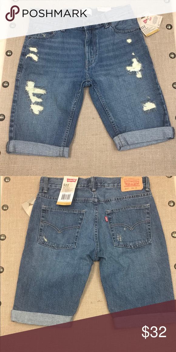 9eb260d350 I just added this listing on Poshmark: Levi's Boys' 511 Slim Fit Cuffed  Slim Shorts. #shopmycloset #poshmark #fashion #shopping #style #forsale # Levi's # ...