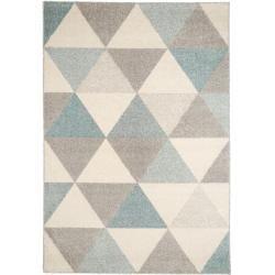 Photo of benuta Kurzflor Teppich Pastel Türkis 200×290 cm – Moderner Teppich für Wohnzimmer benuta