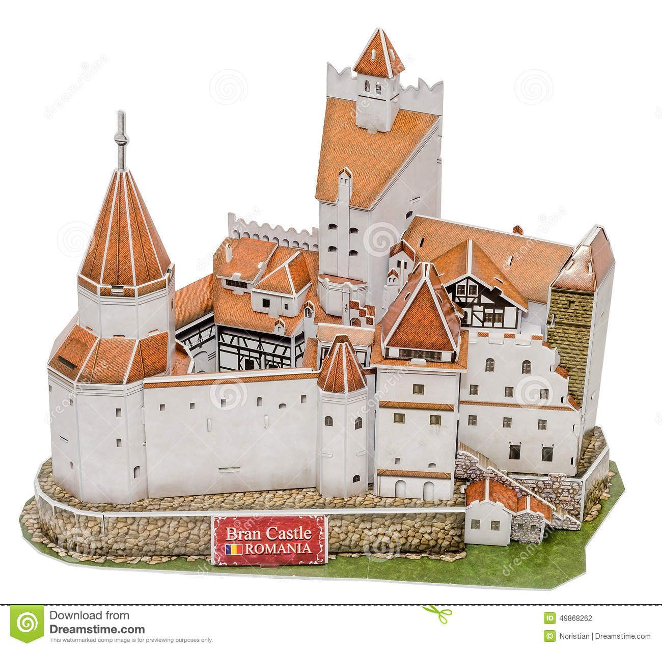 The Bran Castle From Transilvania Transylvania As The New 3d Puzzle The Castle Of Lord Dracula Vlad Tepes Castle Plans Castle Transylvania,Vintage French Decorating Ideas